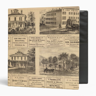 Residences, hotels, Titusville, Franklin 3 Ring Binders