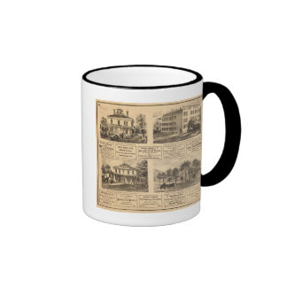 Residences, hotels, Titusville, Franklin Ringer Coffee Mug