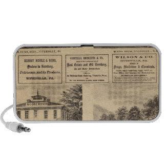 Residences, hotels, Titusville, Franklin Portable Speaker