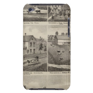 Residences in Amherst and Fillmore, Minnesota iPod Touch Case-Mate Case