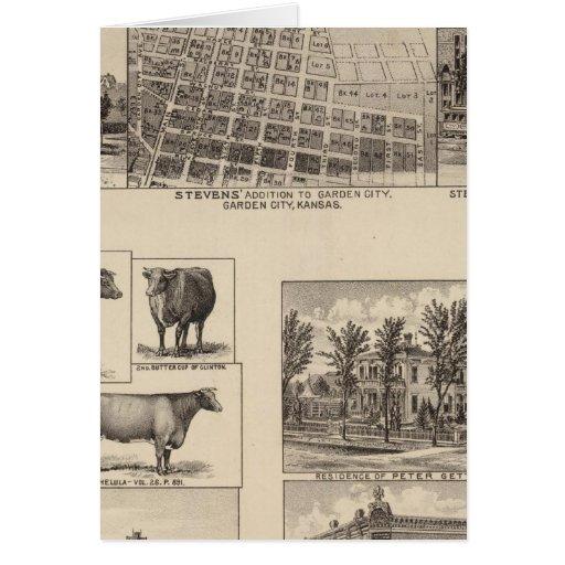 Residences in Kansas Card