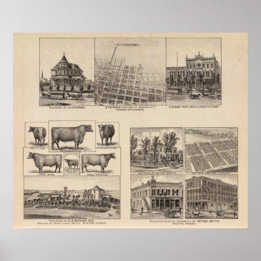 Residences in Kansas Poster