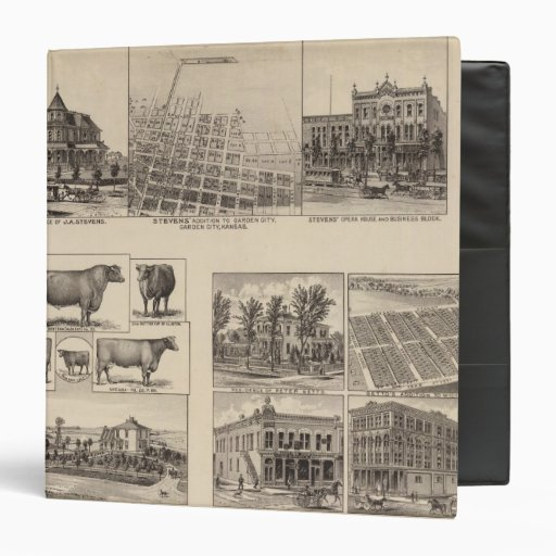 Residences in Kansas Vinyl Binders