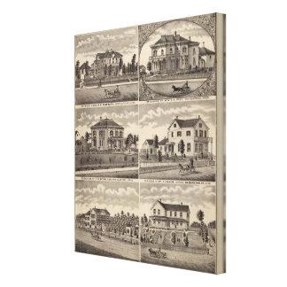 Residences in Minnesota Canvas Print