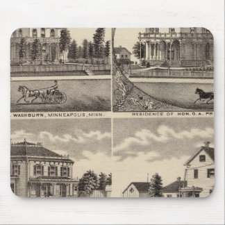 Residences in Minnesota Mouse Pad