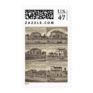 Residences in Minnesota Stamp