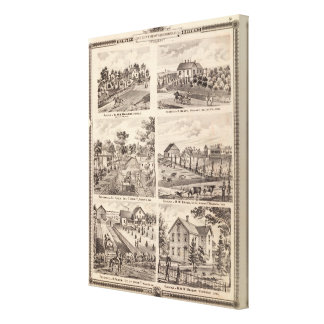 Residences in Redfield Canvas Print