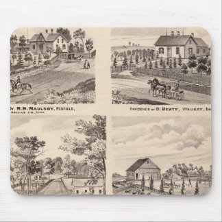 Residences in Redfield Mouse Pad