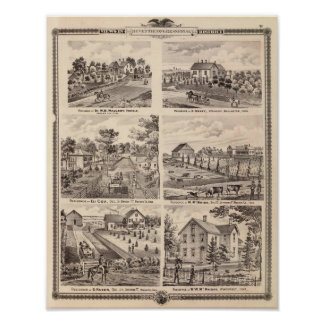 Residences in Redfield Posters