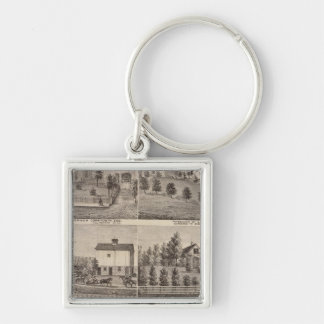 Residences in Rochester and in Dodge, Minnesota Keychain