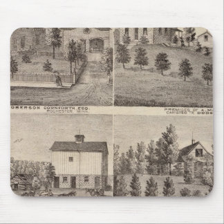 Residences in Rochester and in Dodge, Minnesota Mouse Pad
