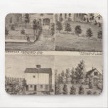 Residences in Rochester and in Dodge, Minnesota Mousepad