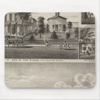 Residences in Rochester, Minnesota Mouse Pad