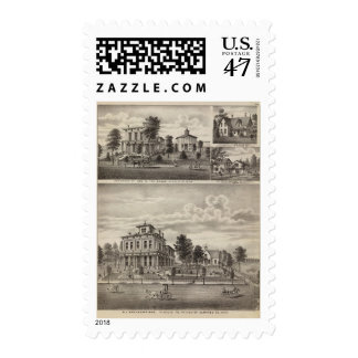 Residences in Rochester, Minnesota Postage Stamp