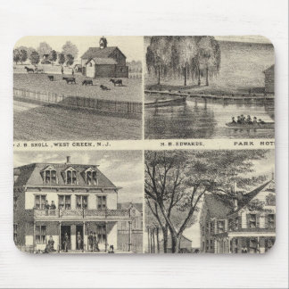 Residences in West Creek, Oceanport, NJ Mouse Pad