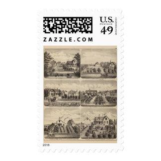 Residences, Minnesota 2 Stamps