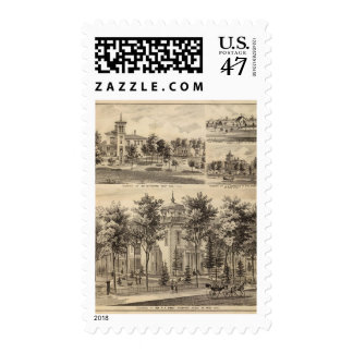 Residences, Minnesota Postage Stamp
