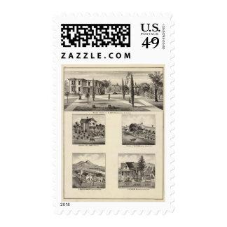 Residences, Monastery Postage Stamp