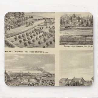 Residences of Caldwell, Fox, Hargis and Hurd Mouse Pad