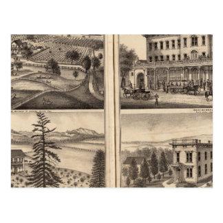 Residences of DD Phillips, C Lee Lambert Postcard
