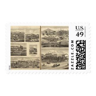 Residences of Frank McElarney, HF Gerkhardt Stamp