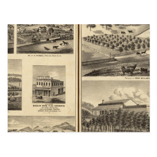 Residences of Frank McElarney, HF Gerkhardt Postcards