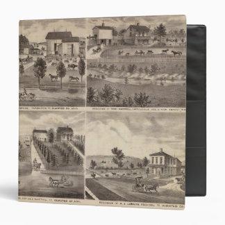 Residences of Greenwood, Carroll, Minnesota 3 Ring Binder
