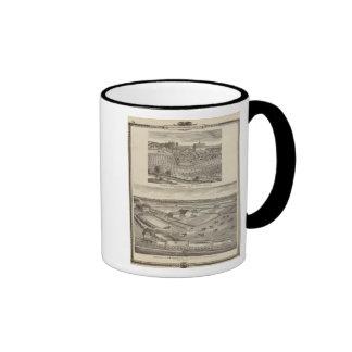 Residences of JW Richardson & JD McGlothlen Ringer Mug