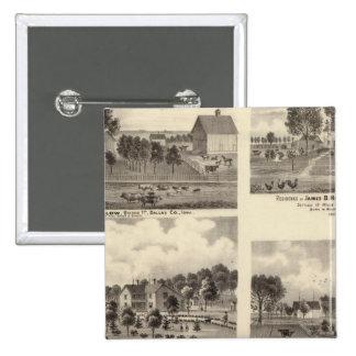 Residences of Swallow Pinback Button