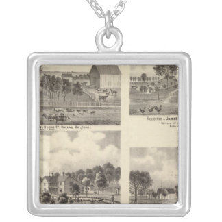 Residences of Swallow Silver Plated Necklace
