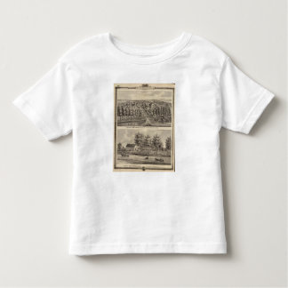 Residences of WH Hartsook and TW Parker Toddler T-shirt