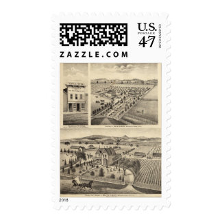 Residences of Wm N Gladden and Mrs Ina B Miller Postage