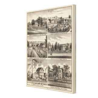 Residences, Waukesha & Kenosha counties Canvas Print