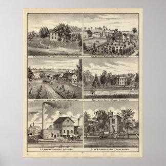 Residences, Waukesha & Kenosha counties Poster