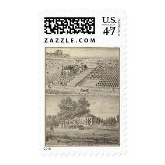Residences Woodland, Knights Landing Postage Stamp