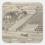 Residences Woodland, Knights Landing Square Sticker