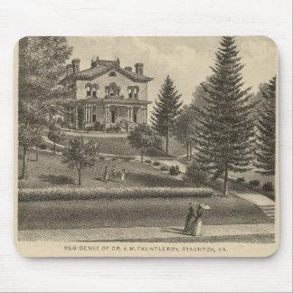 Residencia de Fauntleroy de la colina del roble Alfombrilla De Ratones