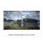 Residencia de general Rebow By John Constable Tarjeta Postal