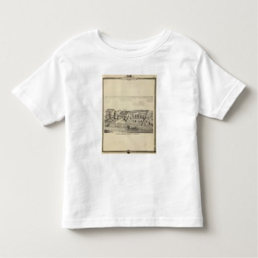 Residencia de Isreal $cox, el municipio de la sala T-shirts