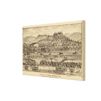 Residencia de Jacob Markley Impresión En Lienzo
