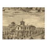Residencia de Jehu P Smith, Sewickley Tarjeta Postal
