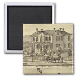 Residencia de JH McCreery Sewickly Iman De Nevera
