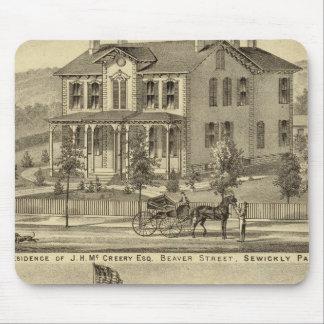 Residencia de JH McCreery Sewickly Tapete De Raton