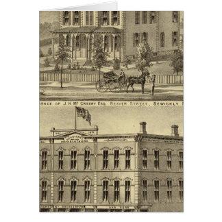 Residencia de JH McCreery Sewickly Tarjetas