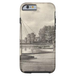 Residencia de José Francisco, el río de Tom, NJ Funda Para iPhone 6 Tough