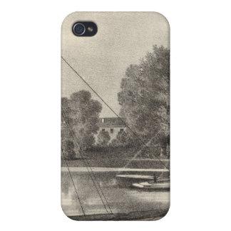 Residencia de José Francisco, el río de Tom, NJ iPhone 4/4S Carcasa