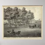 Residencia de Juan S Rogers en Manasquan, NJ Póster