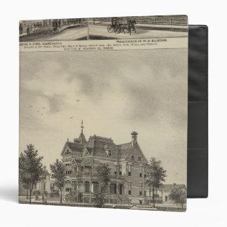 """Residencia de la colina de JD, Kansas Carpeta 1 1/2"""""""