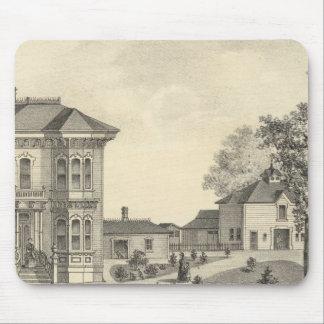 Residencia de Laugenour, arbolado Alfombrilla De Ratones