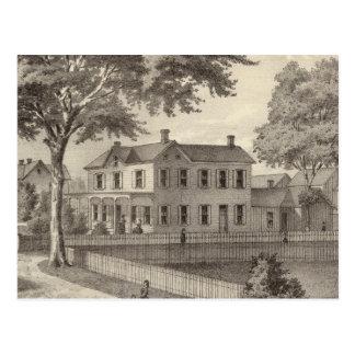 Residencia de Osborne Curtis, pueblo de Squan, NJ Postal